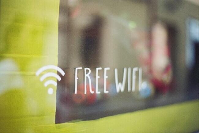 フリーWi-Fi画像
